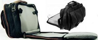 Checkpoint friendly laptop bag xray belt ready