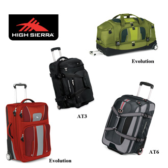 High Sierra Collections luggage range