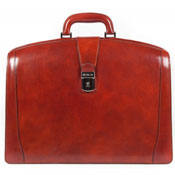 Brown briefcase