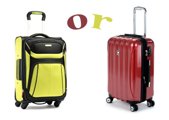 Soft Or Hard Sided Luggage | Which One? | BforBag.com