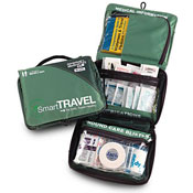 Travel health and hygiene bag